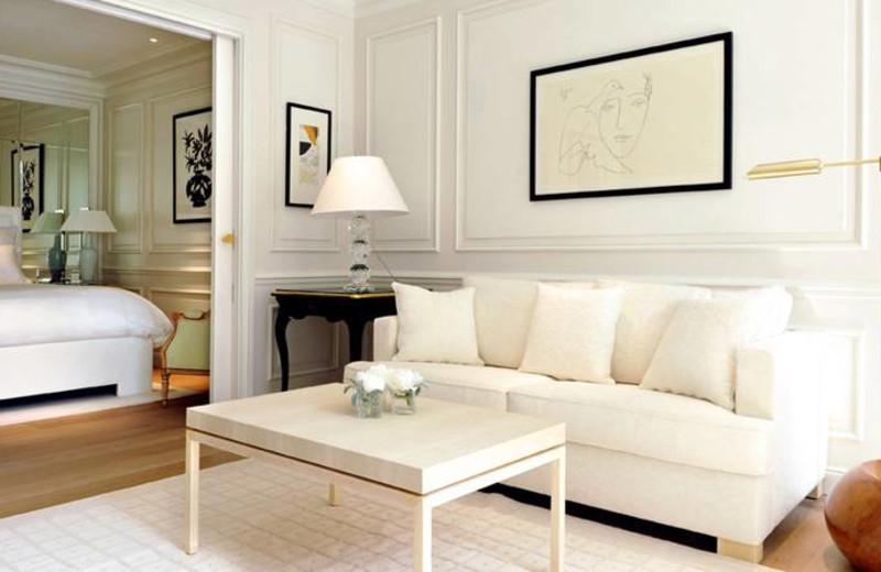 Guest room at Grand Hotel du Cap-Ferrat.