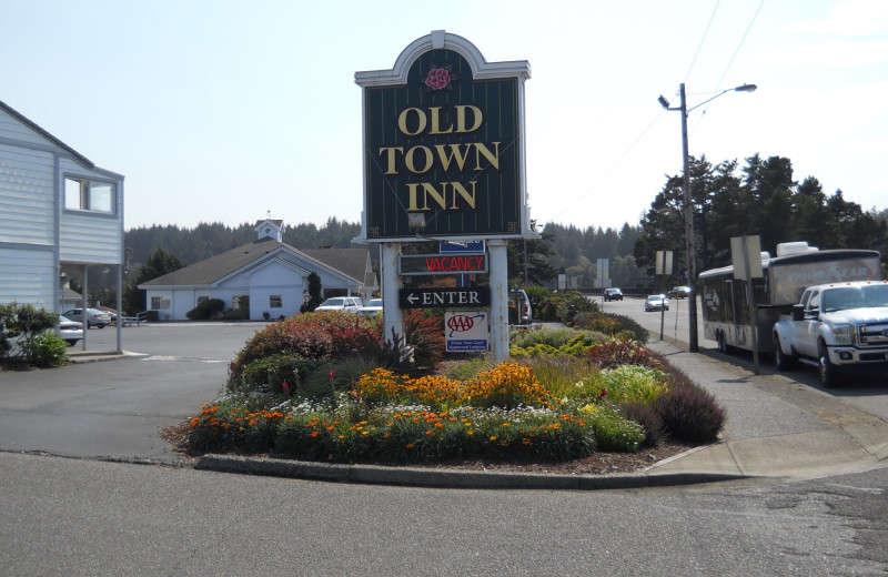 Exterior view of Old Town Inn.