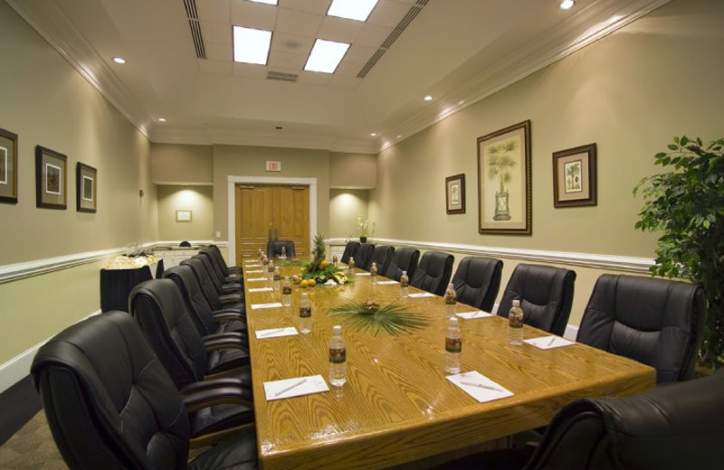 Meeting room at Sea Trail Resort.