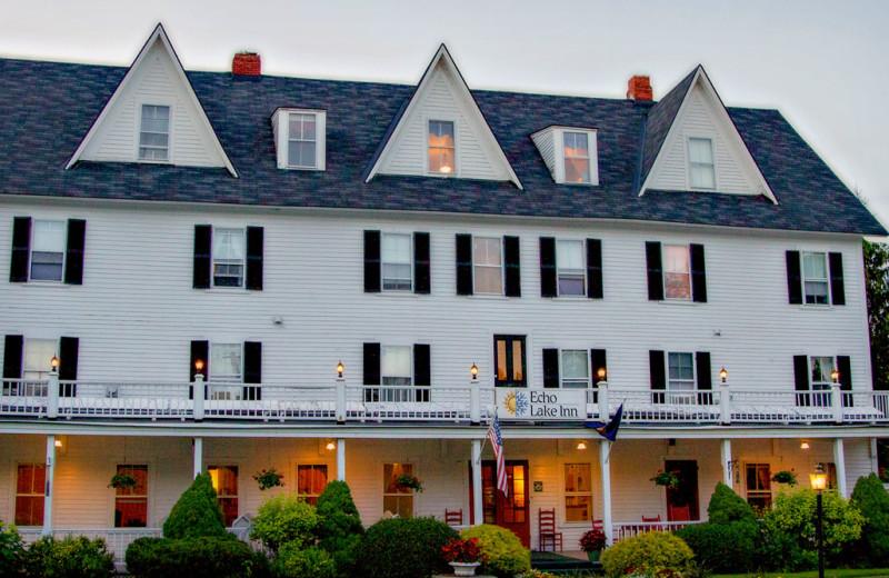 Exterior view of Echo Lake Inn.