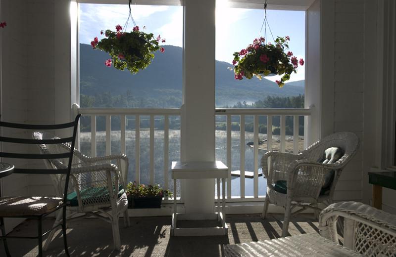 Lake view at Golden Eagle Lodge.