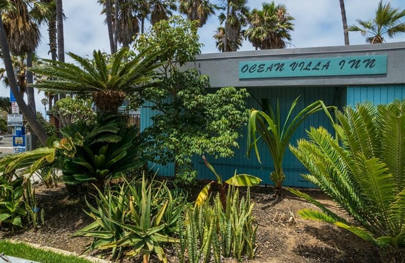 Exterior view of Ocean Villa Inn.