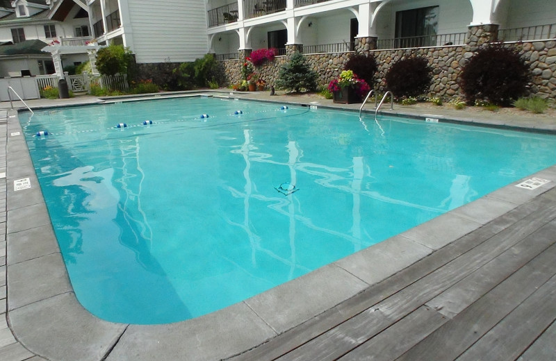 Outdoor pool at Mirror Lake Inn Resort & Spa.