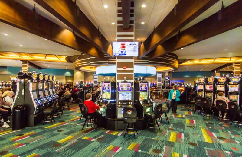 The casino at Jackpot Junction Casino Hotel.