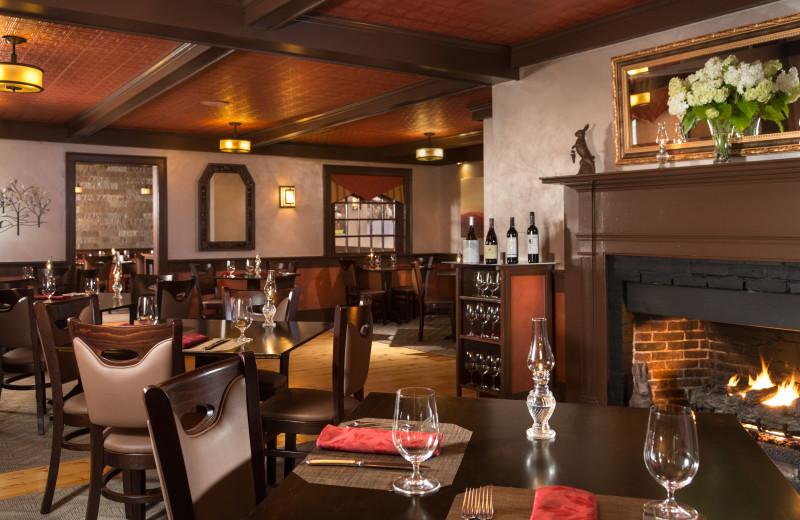 Dining at Rabbit Hill Inn.