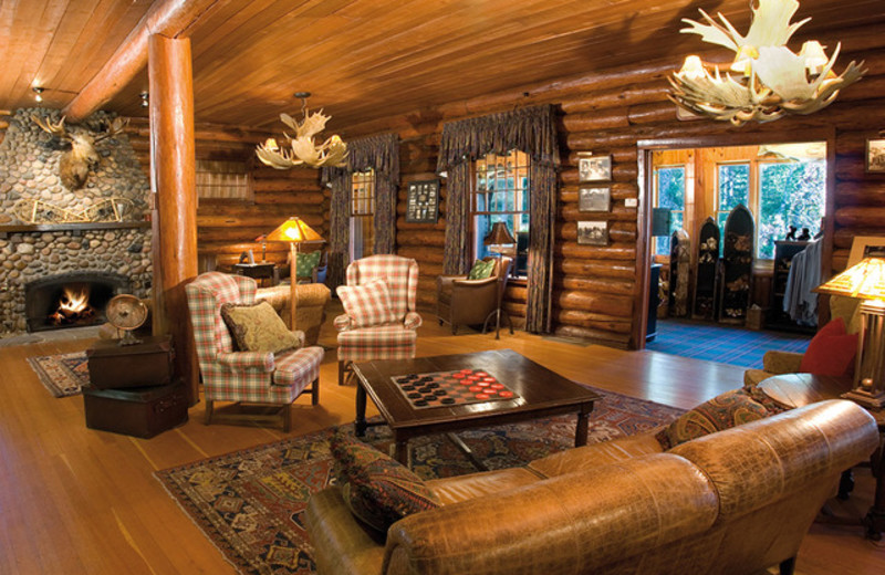 Lounge at Grand View Lodge.
