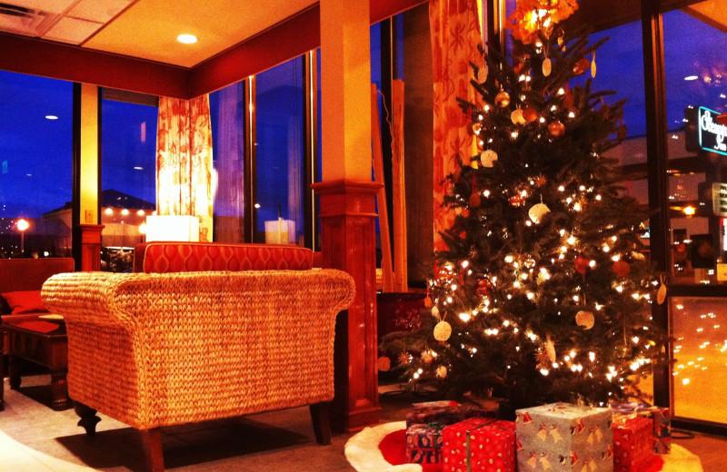 Holiday season at The Oceanfront Inn.