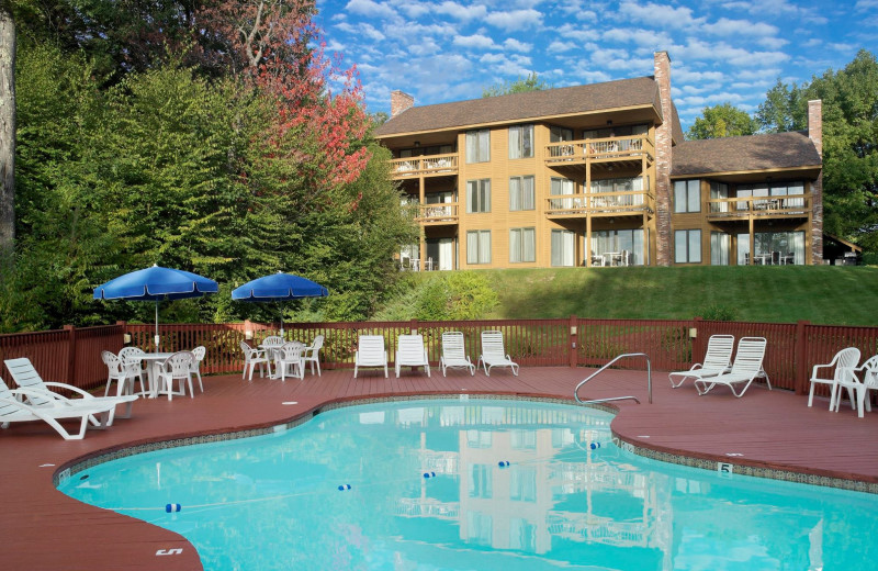 Outdoor pool at the Summit Resort.
