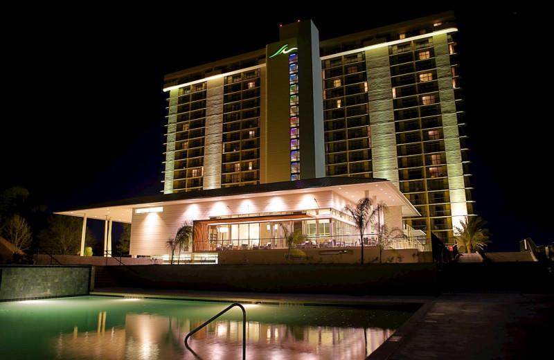 Exterior view of La Torretta Lake Resort & Spa.