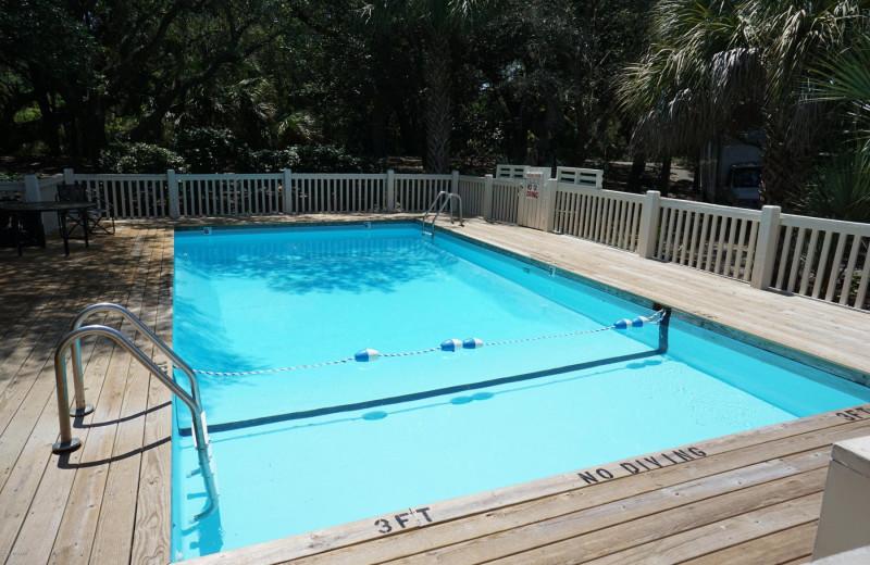 Rental pool at Mary Munroe Realty: Bald Head Vacations & Sales.