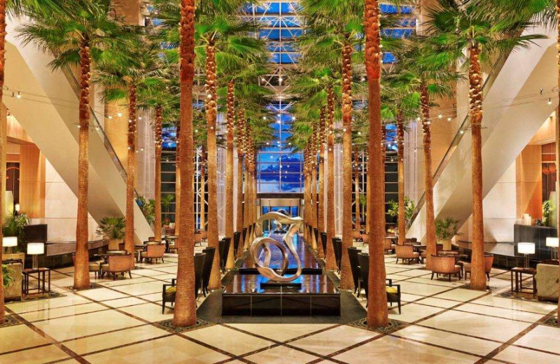 Lobby view at The Westin Diplomat Resort.