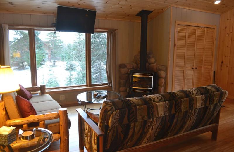 Rental living room at Northwoods Property Management.