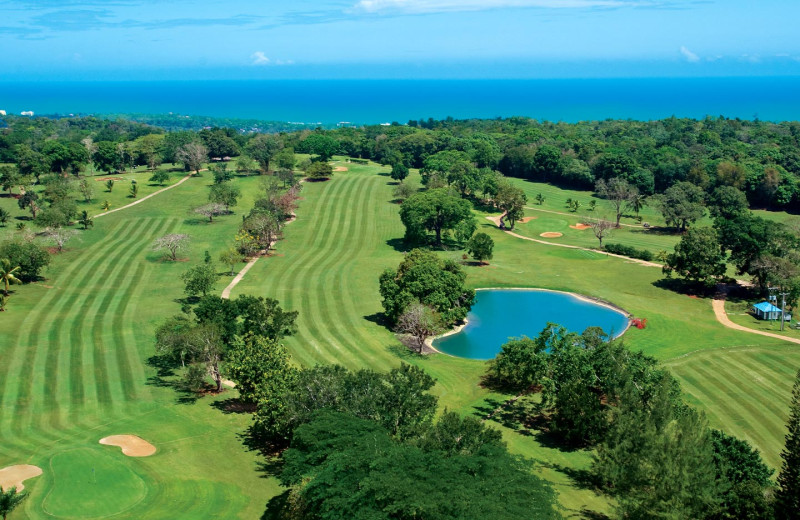 Golf course at Beaches Royal Plantation Golf Resort and Spa.