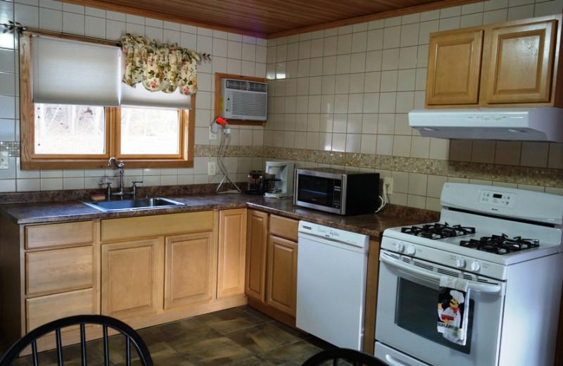 Suite kitchen at Contessa Resort.