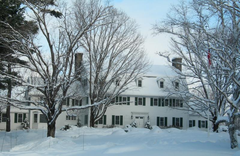 Winter at Adair Country Inn.