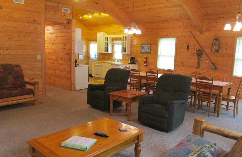 Cabin at Oak Haven Resort & Campground.