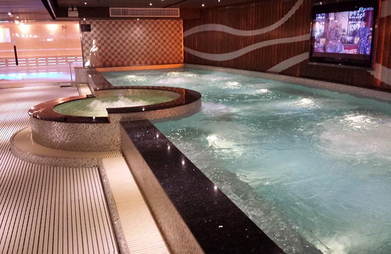 Indoor pool at Kimberley Hotel.