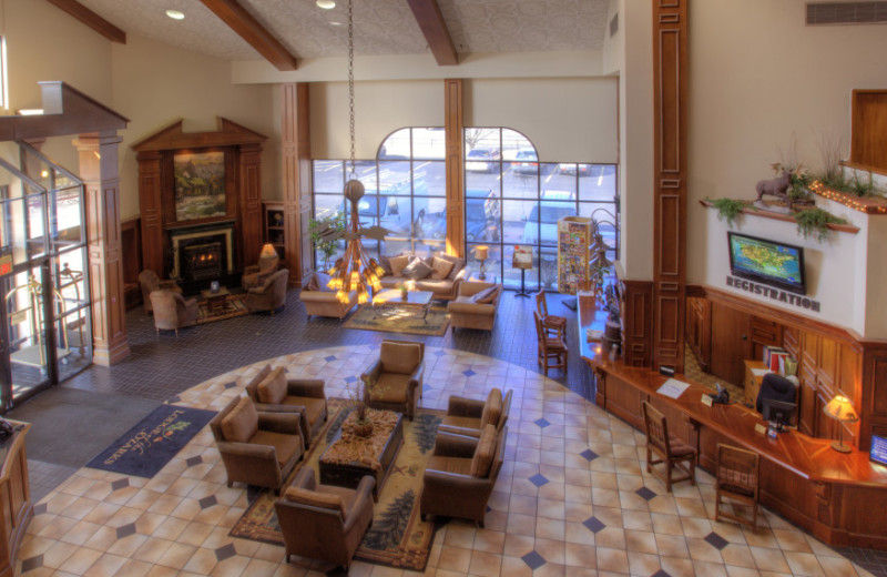 Lobby Area at Lodge of the Ozarks