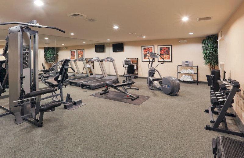 Fitness room at Staybridge Suites Sacramento Natomas.
