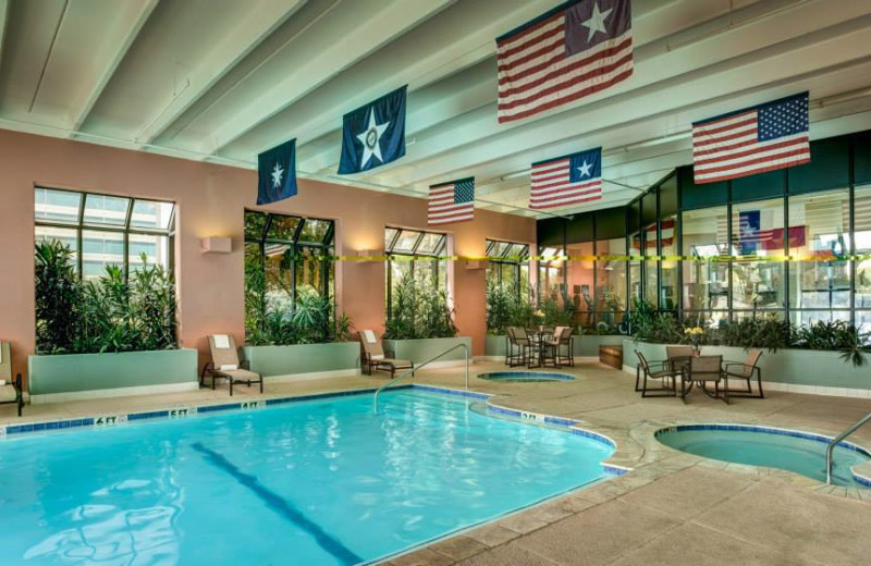 Indoor Pool at the Houston Marriott Westchase