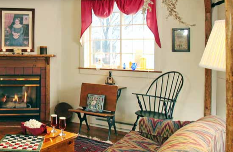 Interior view at Rabbit Hill Inn.