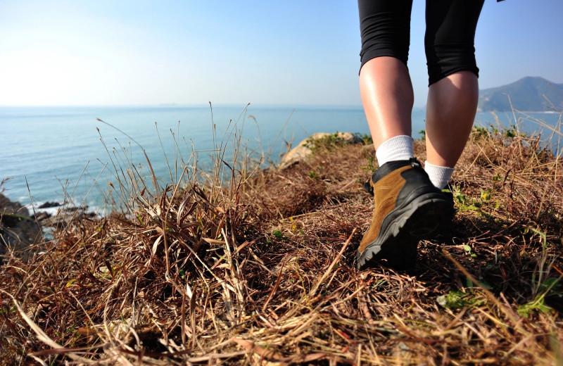 Hiking at Newagen Seaside Inn.
