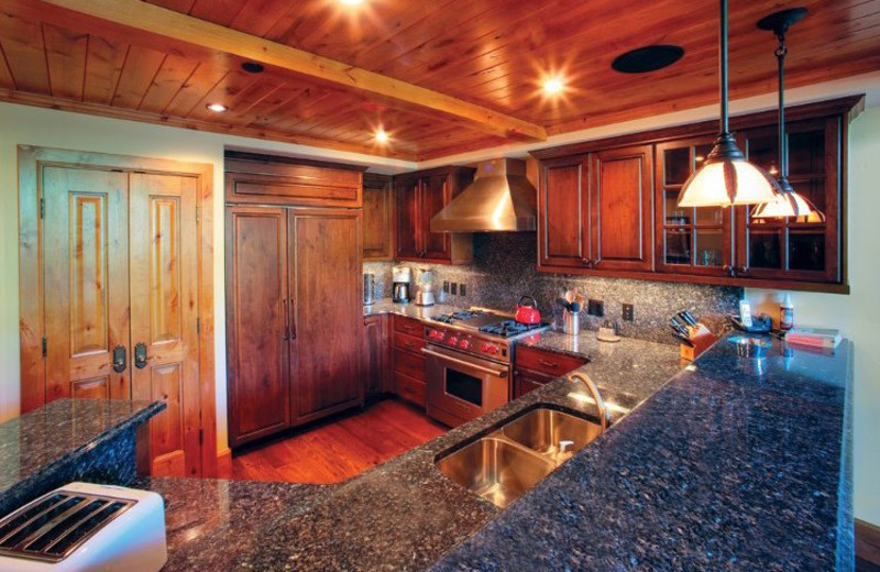 Rental Home Interior at Triumph Mountain Properties