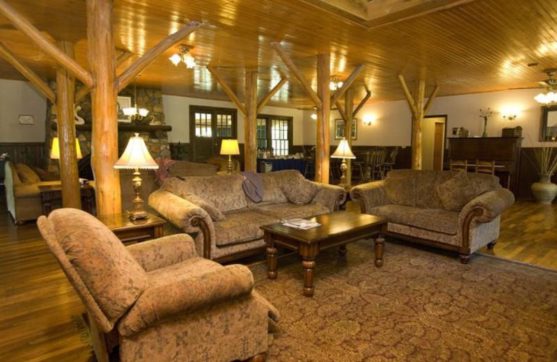 Lobby at the Highland Lake Inn