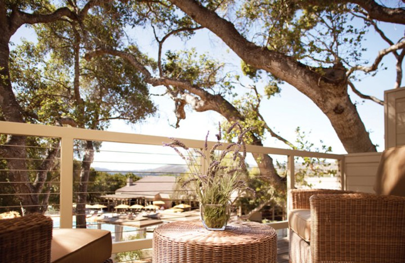 Private Guest Patio at Carmel Valley Ranch