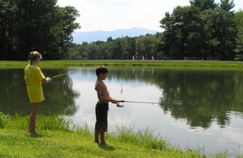 Fishing Friends at Wolff's Maple Breeze Resort