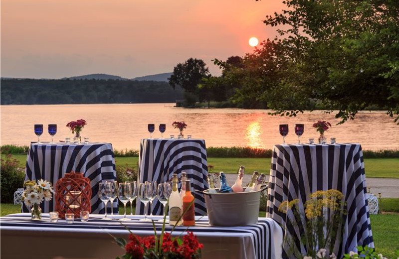Outdoor Setting at Lake Opechee Inn and Spa