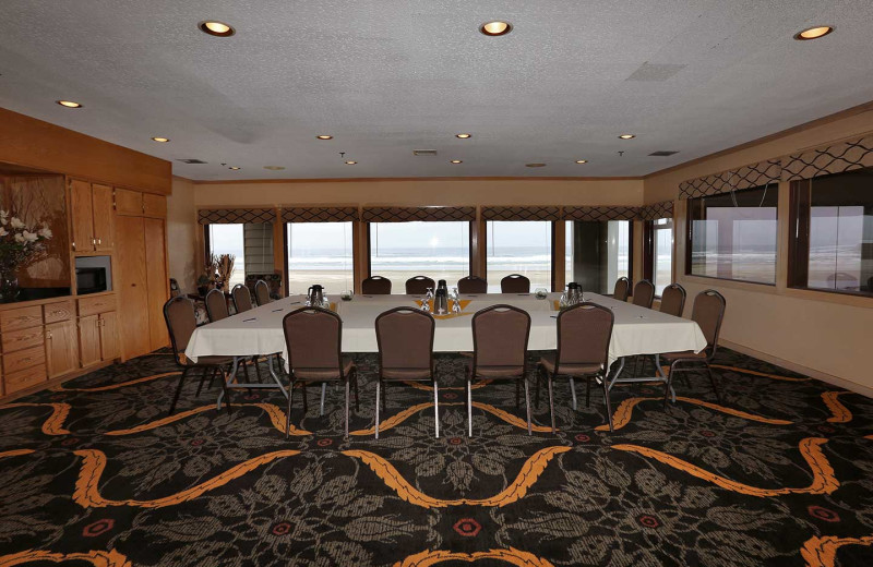 Meeting room at Driftwood Shores Resort and Conference Center.