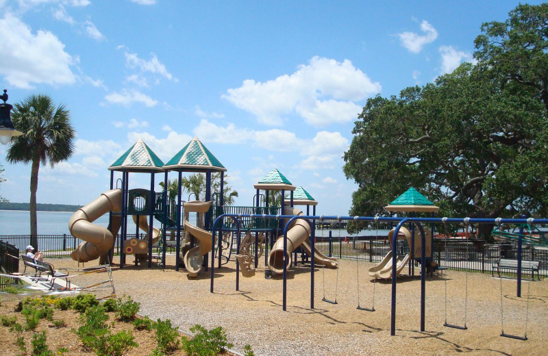 Playground at Ocean Inn & Suites.