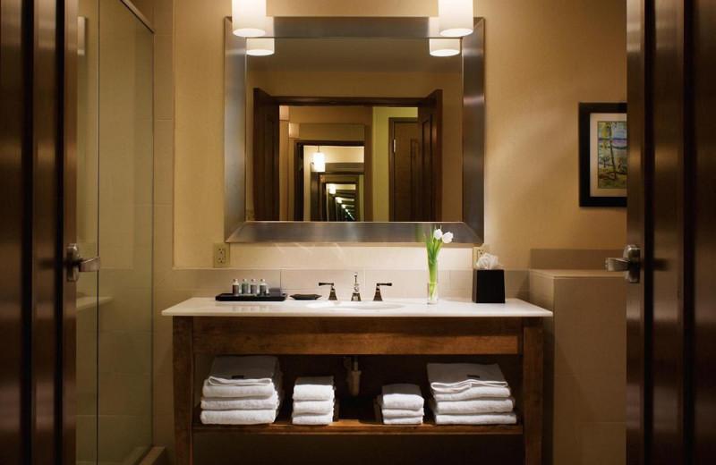 Bathroom at The Westin Dawn Beach Resort & Spa.