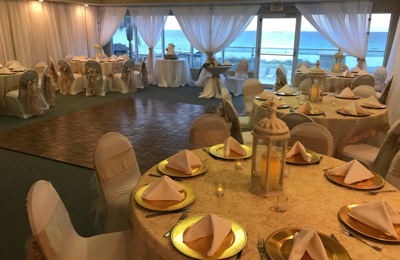 Wedding reception at Sterling Resorts.