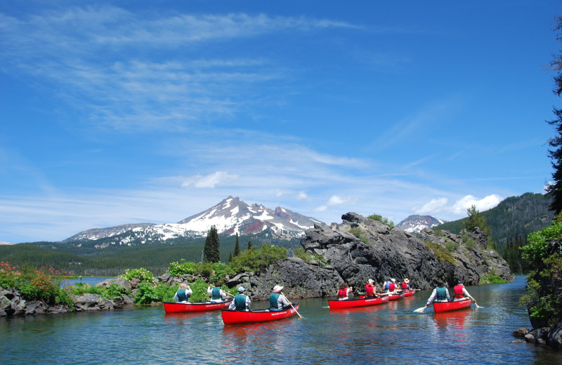 Kayaking at Mountain Resort Properties.