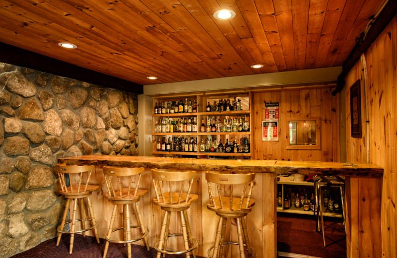 Bar at Snowy Owl Inn and Resort.
