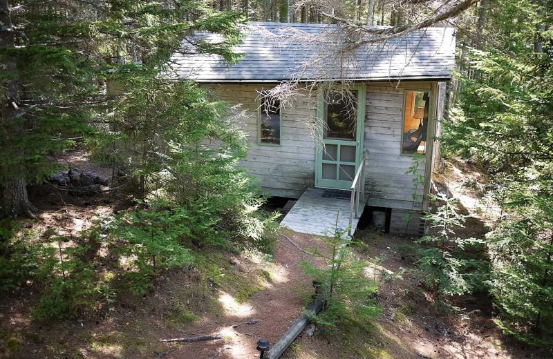 Rental exterior view of Acadia Cottage Rentals.