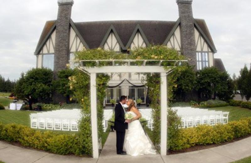 Wedding Ceremony at Semiahmoo Resort