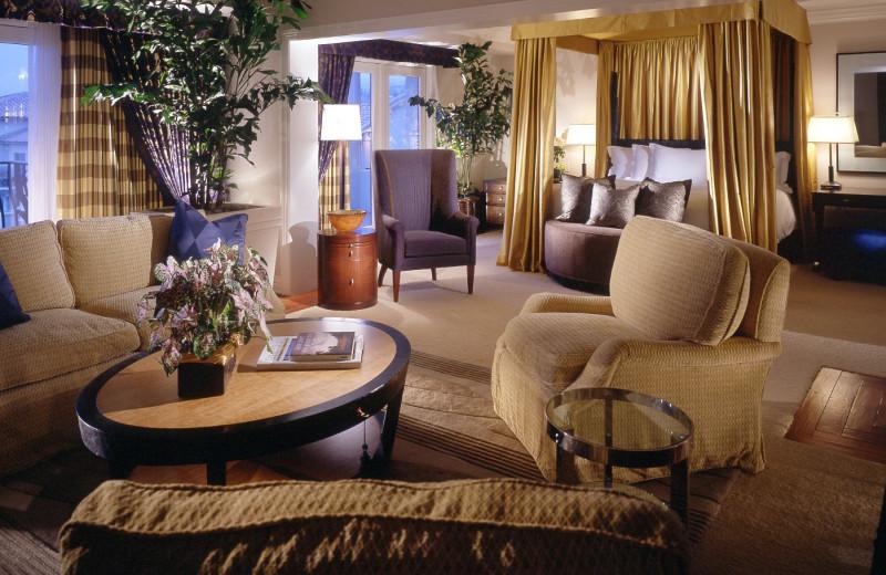 Presidential suite at St. Regis Monarch Beach.