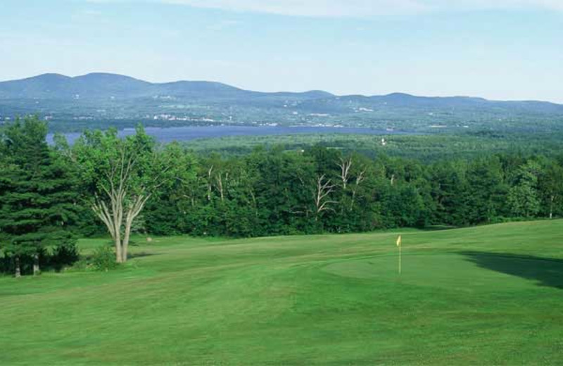 Golf course at Steele Hill Resort.