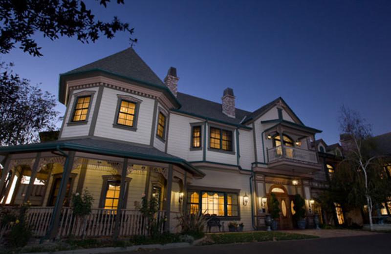 Exterior Night View at Santa Ynez Inn