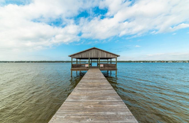 Dock at Sugar Sands Realty & Management.