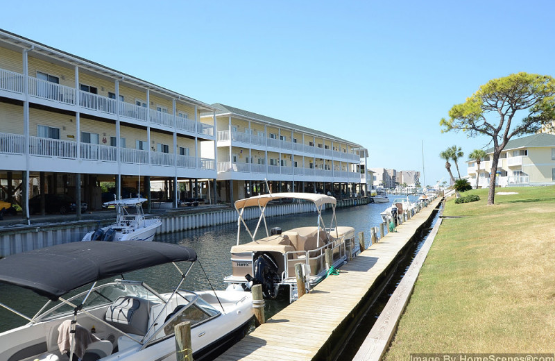 Canal view at Sandpiper Cove.