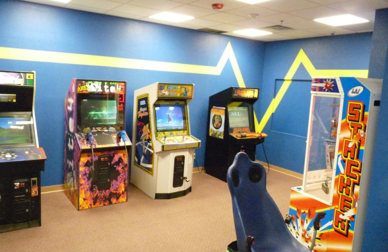 Arcade at Castle Rock Resort and Waterpark.