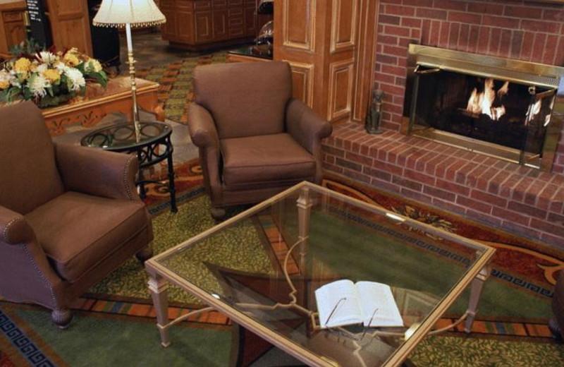 Lobby view at Homewood Suites Dallas-Irving/Las Colinas.