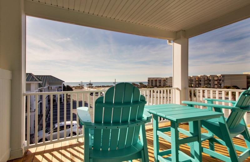 Balcony at Islander Hotel & Resort.