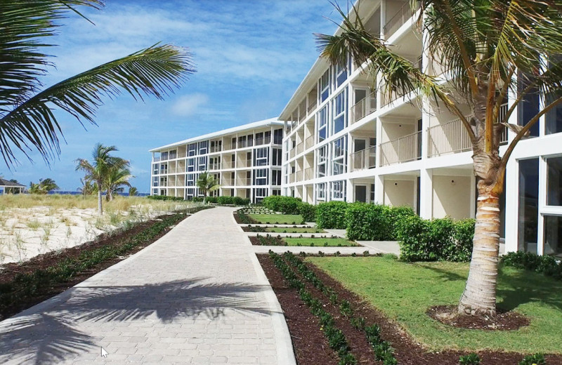 Exterior view of East Bay Resort.