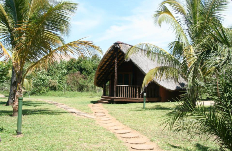 Exterior view of Zongoene Lodge.