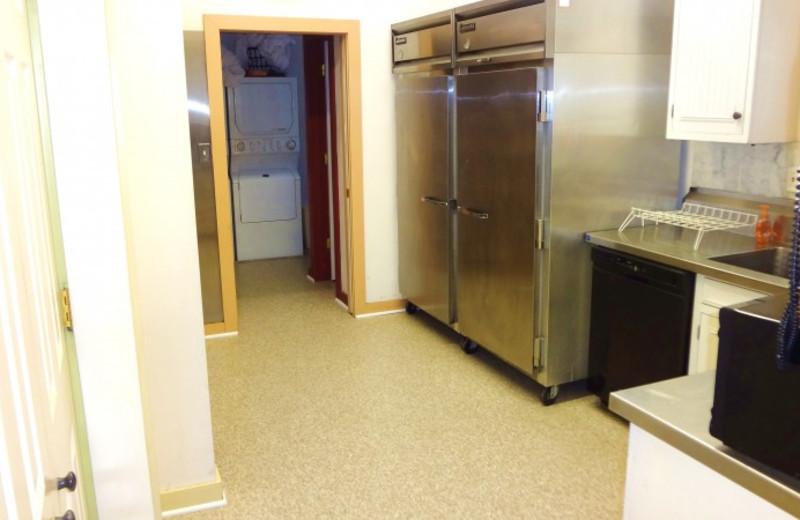 Kitchen at Lake Michigan Reunion & Retreat.